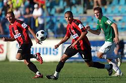Joao Gabriel Da Silva (8) of Primorje  at 6th Round of PrvaLiga Telekom Slovenije between NK Primorje Ajdovscina vs NK Rudar Velenje, on August 24, 2008, in Town stadium in Ajdovscina. Primorje won the match 3:1. (Photo by Vid Ponikvar / Sportal Images)