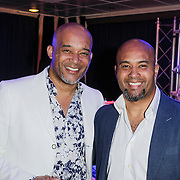 NLD/Rotterdam/20120516 - Verjaardag en boekpresentatie Magali Gorre, Dean Gorre en ?????