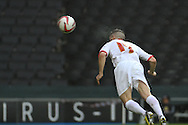 Picture by David Horn/Focus Images Ltd +44 7545 970036.26/12/2012.Ryan Lowe of Milton Keynes Dons scores the opening goal during the npower League 1 match at stadium:mk, Milton Keynes.