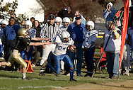 Middletown, NY - during an Orange County Youth Football League game against Highland Falls at Watts Park in Middletown on Nov. 11, 2007.