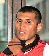 Picture by Alan Stanford/Focus Images Ltd +44 7915 056117<br />03/10/2013<br />Marco Lopez pictured during a Matchroom Sports press conference at International Hotel, Canary Wharf, London.