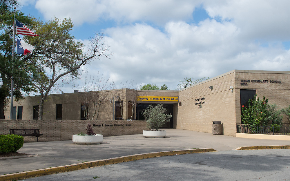 George Sanchez Elementary School photographed April 7, 2013. The school was a recipient of funds from the 2007 Bond.