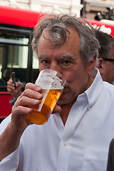 © under license to London News Pictures. 25/06/12..Fellow Python Terry Jones outside The Angel Inn at the unveiling of a blue plaque to former Monty Python star, Graham Chapman. The memorial has been organised by Chapman's family, friends, and former colleagues, following the news that English Heritage have dropped plans for an 'official' Blue Plaque to the star, due to budget cuts. ..ALEX CHRISTOFIDES/LNP