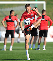 ARLAMOW, POLAND - MAY 31: Piotr Zielinski during a training session of the Polish national team at Arlamow Hotel during the second phase of preparation for the 2018 FIFA World Cup Russia on May 31, 2018 in Arlamow, Poland. (MB Media)