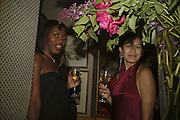 Susan Bender and Chomwan Weeraworawit, Plum Sykes, book launch party, Annabel's, Berkeley Square, London, W1,10 May 2006.  Matthew Williamson, Catherine Vautrin, Laudomia Pucci host party to celebrate 'The Debutante Divorcee'. ONE TIME USE ONLY - DO NOT ARCHIVE  © Copyright Photograph by Dafydd Jones 66 Stockwell Park Rd. London SW9 0DA Tel 020 7733 0108 www.dafjones.com