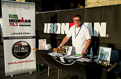 Silver coins shop at I feel Slovenia Ironman 70.3 Slovenian Istra 2018, on September 23, 2018 in Koper / Capodistria, Slovenia. Photo by Vid Ponikvar / Sportida