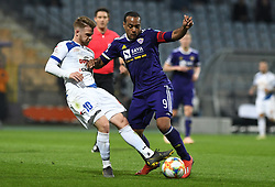 Rudi Požeg Vancaš of Celje and Marcos Magno Morales Tavares of Maribor in action during football match between NK Maribor and NK Celje in Round #24 of Prva liga Telekom Slovenije 2018/19, on March 30, 2019 in stadium Ljudski vrt, Maribor, Slovenia. Photo by Milos Vujinovic / Sportida