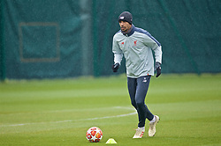 LIVERPOOL, ENGLAND - Tuesday, April 16, 2019: Liverpool's Joel Matip during a training session at Melwood Training Ground ahead of the UEFA Champions League Quarter-Final 2nd Leg match between FC Porto and Liverpool FC. (Pic by Laura Malkin/Propaganda)