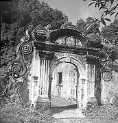 VOC, Gateway. VOC Indonesia.<br /> Photographed in 1969