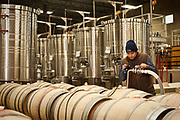 wine production at Long Shadows Vintners