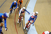 Men Madison, Oliver Wood and Ethan Hayter (Great Britain) during the Track Cycling European Championships Glasgow 2018, at Sir Chris Hoy Velodrome, in Glasgow, Great Britain, Day 5, on August 6, 2018 - Photo luca Bettini / BettiniPhoto / ProSportsImages / DPPI<br /> - Restriction / Netherlands out, Belgium out, Spain out, Italy out -