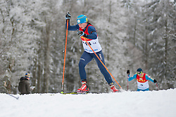 PRYLUTSKA Olga Guide: MOGYLNYI Volodymyr, Biathlon Middle Distance, Oberried, Germany