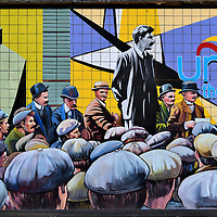 Unite The Union Mural in Belfast, Northern Ireland<br />