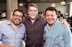 Ruben and Hugo Ortega with Rick Bayless
