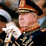 Editorial Only<br /> <br /> Title: Pinochet<br /> <br /> Author: Francisco Arias <br /> <br /> <br /> Copyrights: Francisco Arias <br /> <br /> GENERAL PINOCHET EN LA ESCUELA MILITAR . EN  CAMBIO DE MANDO DEL EJERCITO  DE CHILE<br /> <br /> <br /> GENERAL PINOCHET IN MILITARY SCHOOL. CHANGE OF COMMAND IN THE ARMY OF CHILE<br /> <br /> Copyrights notice:  Francisco Arias <br /> <br /> Date Create:10-03-1998<br /> <br /> City: Santiago<br /> <br /> Country: Chile<br /> <br /> Credit :FRANCISCO ARIAS