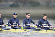 Putney, GREAT BRITAIN,    left Bow. Tim FARQUHARSON, 2. Ben ROSENBERGER, 3. Mike VALLI. 4. Alex HEARNE, during the 2008 Varsity/Oxford University [OUBC] Trial Eights, raced over the championship course. Putney to Mortlake, on the River Thames. Thurs. 11.08.2008 [Mandatory Credit, Peter Spurrier/Intersport-images].. Varsity Boat Race, Rowing Course: River Thames, Championship course, Putney to Mortlake 4.25 Miles,