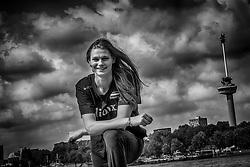 21-08-2017 NED: Portret Nika Daalderop: Rotterdam<br /> Het jonge talent Nika Daalderop is klaar voor het WK kwalificatie toernooi in Rotterdam