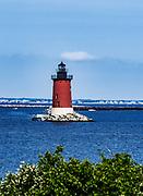 Delaware Breakwater Lighthouse, Lewes, Delaware, USA