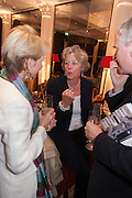 Juliet Nicolson - book launch party for  her latest novel Abdication, about British society after the death of George V.  The Gallery at The Westbury, 37 Conduit Street, Mayfair, London, 12 June 2012