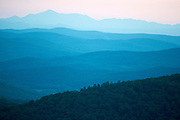 View from Butternut Mountain in Johnson, Vermont.