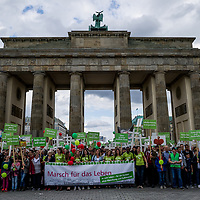 16 Marsch für das Leben & Gegendemonstration