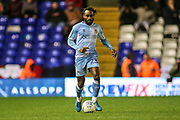 Fankaty Dabo of Coventry City (23) during the EFL Sky Bet League 1 match between Coventry City and Rotherham United at the Trillion Trophy Stadium, Birmingham, England on 25 February 2020.