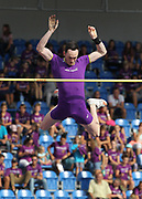 Stephen Clough aka Steven Clough aka Steve Clough (AUS) places fifth in the pole vault at 16-8¾ (5.10m) ;during the IAAF Continental Cup 2018 at Mestky Stadion in Ostrava, Czech Republic, Sunday, Sept. 9, 2018. (Jiro Mochizuki/Image of Sport)