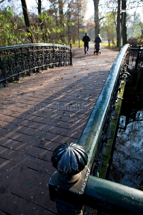 Footvbridge in the Vondelpark, Amsterdam