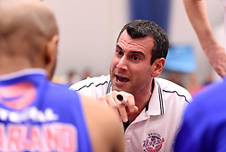 Andreas Kapoulas head coach of Bristol Flyers  - Mandatory byline: Joe Meredith/JMP - 11/12/2015 - Basketball - SGS Wise Campus - Bristol, England - Bristol Flyers v Plymouth Raiders - British Basketball League