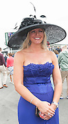 30/07/2014 Michelle Mone is the founder and co-owner of MJM International, a multi-million pound lingerie company at the Wednesday plate day of the  Galway Races .Photo:Andrew Downes