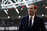 04.02.2018 - Torino - Serie A 2017/18 - 23a giornata  -  Juventus-Sassuolo nella  foto: Massimiliano Allegri