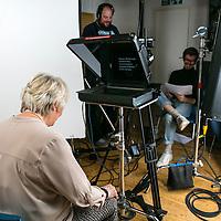 Alison Steadman & Nurses Video Stills;<br /> Marie Cure;<br /> Cherryduck Studios, Wapping;<br /> 3rd October 2016<br /> <br /> © Pete Jones<br /> pete@pjproductions.co.uk