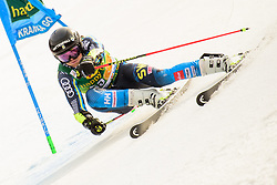 March 9, 2019 - Kranjska Gora, Kranjska Gora, Slovenia - Mattias Roenngren of Sweden in action during Audi FIS Ski World Cup Vitranc on March 8, 2019 in Kranjska Gora, Slovenia. (Credit Image: © Rok Rakun/Pacific Press via ZUMA Wire)