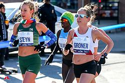 Gerda Steyn, RSA, Roberta Groner, Tracksmith<br /> TCS New York City Marathon 2019