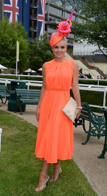 KATHERINE JENKINS at Day 1 of the 2013 Royal Ascot Racing Festival at Ascot Racecourse, Ascot, Berkshire on 18th June 2013.