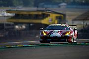 June 13-18, 2017. 24 hours of Le Mans. 51 AF Corse, Ferrari 488 GTE, James Calado, Alessandro Pier Guidi, Lucas di Grassi