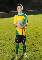 Inter Lakes Youth Soccer League Y Landing individual athlete portrait October 15, 2011.