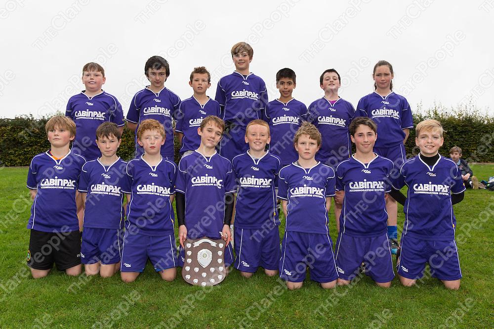 Mountshannon/Mol an Oige Boys Division 5 Winning Team photo