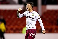 Jack Grealish of Aston Villa celebrates victory over Nottingham Forest - Mandatory by-line: Robbie Stephenson/JMP - 13/03/2019 - FOOTBALL - The City Ground - Nottingham, England - Nottingham Forest v Aston Villa - Sky Bet Championship