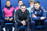 Luton Town manager Nathan Jones during the Sky Bet League 2 match between Oxford United and Luton Town at the Kassam Stadium, Oxford, England on 16 April 2016. Photo by Shane Healey.