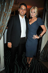 JAMIE REUBEN and MARISSA MONTGOMERY at the launch of Quintessentially Soho at the House of St Barnabas, 1 Greek Street, London on 29th September 2009.<br /> <br /> <br /> <br /> <br /> BYLINE MUST READ: donfeatures.com<br /> <br /> *THIS IMAGE IS STRICTLY FOR PAPER, MAGAZINE AND TV USE ONLY - NO WEB ALLOWED USAGE UNLESS PREVIOUSLY AGREED. PLEASE TELEPHONE 07092 235465 FOR THE UK OFFICE.*