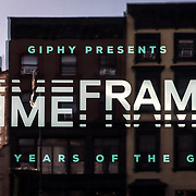 GIPHY's TIME_FRAME Exhibition 2017