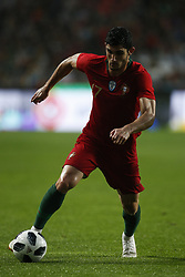 June 7, 2018 - Lisbon, Portugal - Portugal's forward Goncalo Guedes  in action  during the FIFA World Cup Russia 2018 preparation match between Portugal vs Algeria in Lisbon on June 7, 2018. (Credit Image: © Carlos Palma/NurPhoto via ZUMA Press)