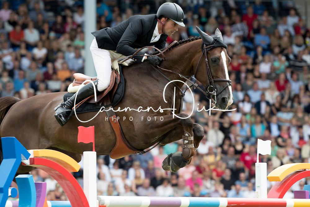 Duguet Romain, (SUI), Quorida de Treho<br /> Rolex Grand Prix<br /> CHIO Aachen 2016<br /> &copy; Hippo Foto - Dirk Caremans<br /> 17/07/16