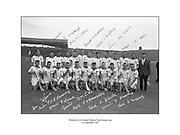 All-Ireland Senior Hurling Final, Kilkenny v Waterford. Waterford Team.<br /> 01.09.1963