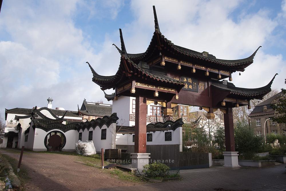 Chinesisches Teehaus Yu Garden
