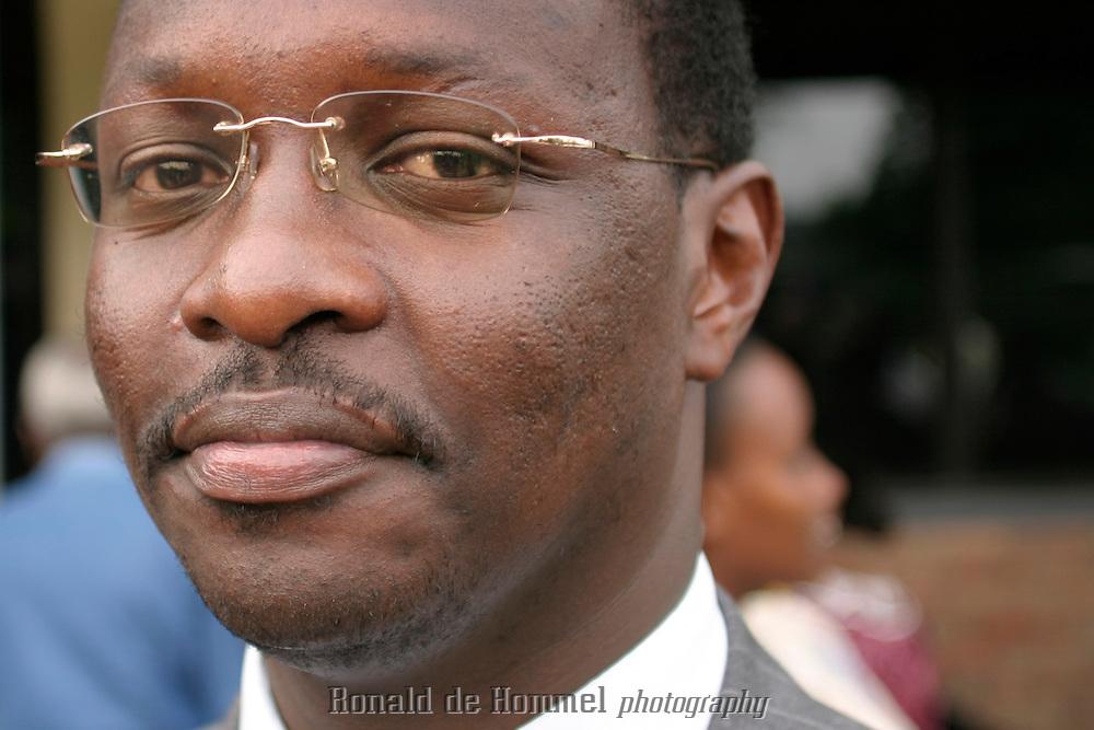 Mr. Robert Bayigamba, minister of Youth Culture and Sport of Rwanda