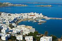 Grèce, Les Cyclades, Ile de Mykonos, Ville de Chora, le quartier du port // Greece, Cyclades, Mykonos island, Chora, Mykonos town, the harbour