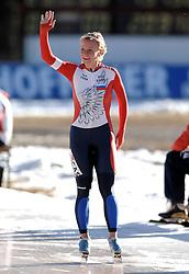 13-01-2007 SCHAATSEN: EUROPESE KAMPIOENSCHAPPEN: COLLALBO ITALIE <br /> Yekaterina Abramova RUS - RiCas<br /> ©2007-WWW.FOTOHOOGENDOORN.NL