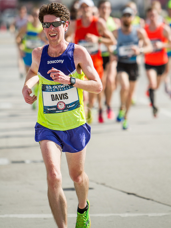 USA Olympic Team Trials Marathon 2016, Saucony, Davis